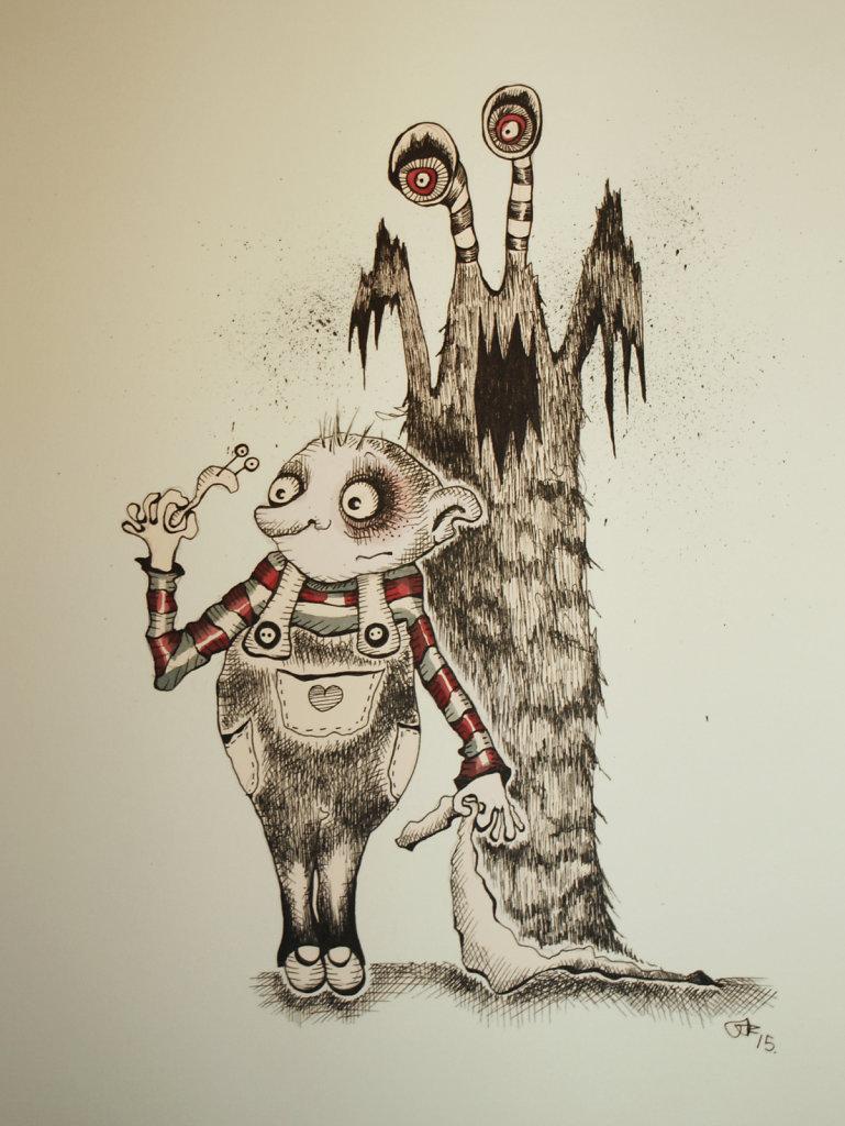"""Den dag Otto lærte at spise snegle"""